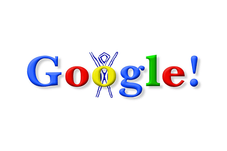 First Google Doodle – Burning Man Festival August 30, 1998