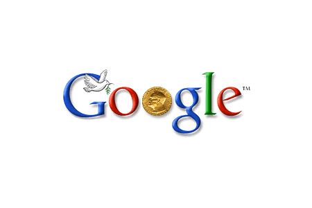 Google celebrates the Nobel Prize Centennial Award Ceremony December 9, 2001