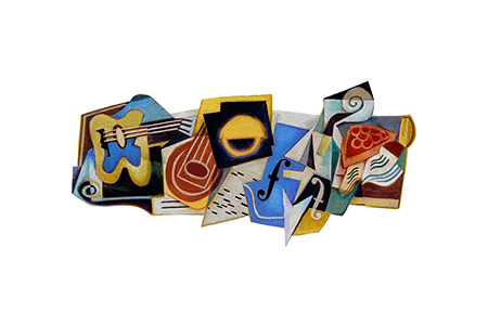 Google Doodle – Juan Gris' 125th Birthday March 23, 2012