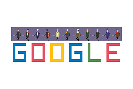 Google Doodle – Doctor Who's 50th Anniversary November 23, 2013