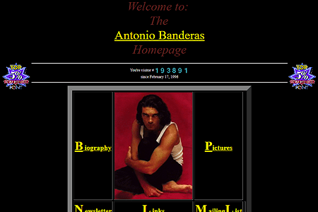 Antonio Banderas in 1995