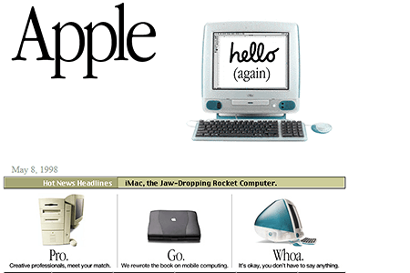 Apple in 1998