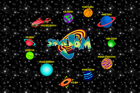 Space Jam in 1996