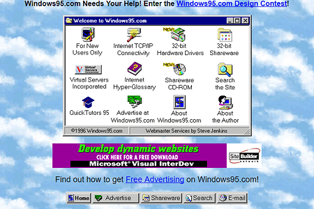Windows 95 in 1996