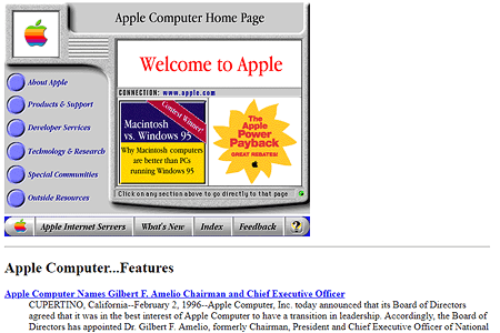 Apple in 1996