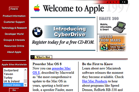 Apple in 1997