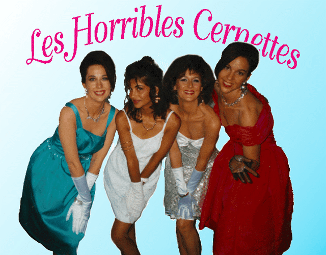 Les Horribles Cernettes, one of the first image on the Web