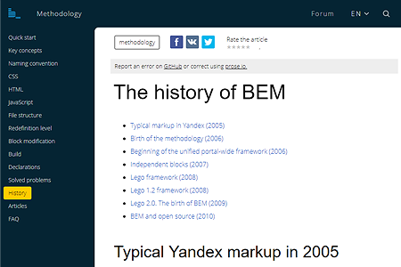 The history of BEM